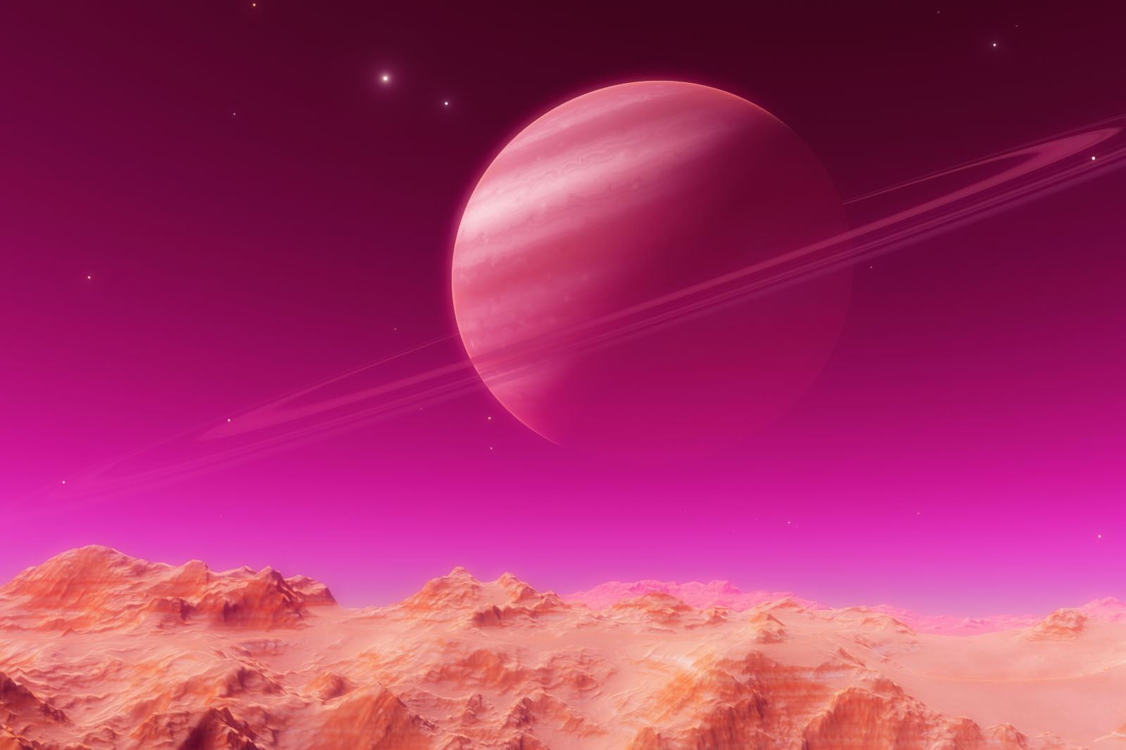 pink planet images - HD 1600×1067