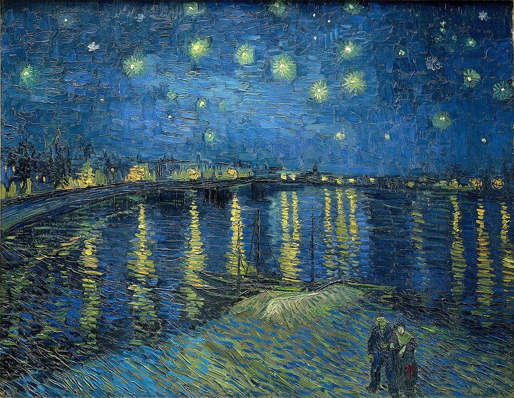 Van Gogh's Starry Night Over the Rhône