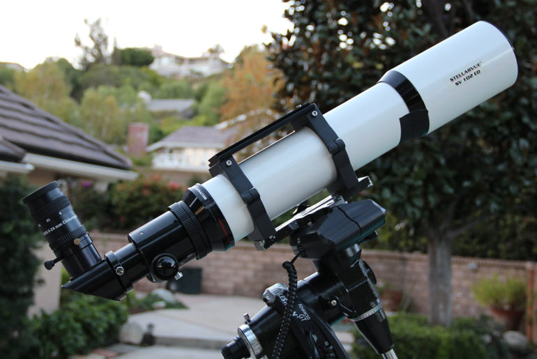 How to take photos with a telescope