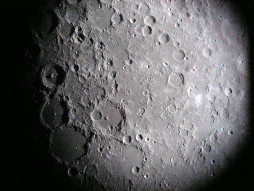 The Moon and its craters