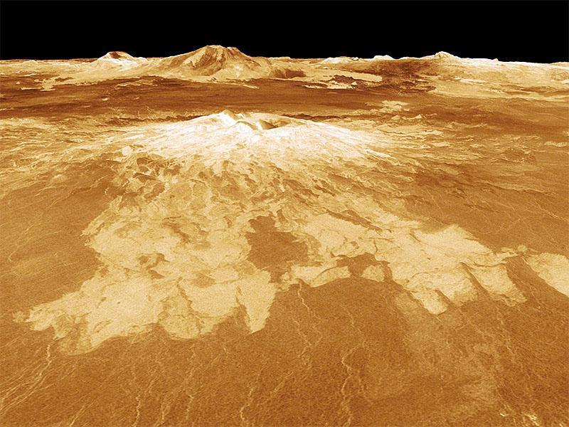 Surface of venus